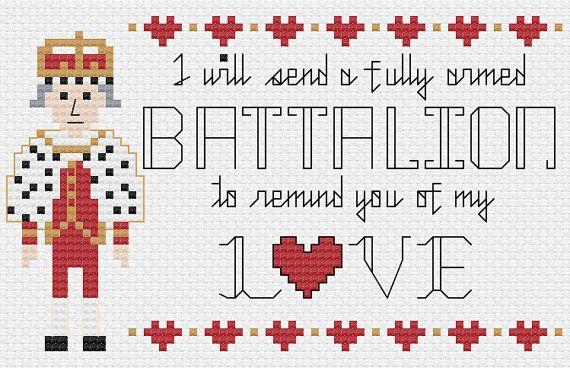 Hamilton Cross Stitch Pattern Fully Armed par SweetPrairieSkies