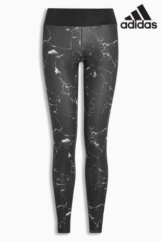 Buy adidas Black Marble Tight from the Next UK online shop