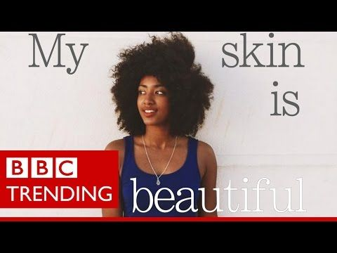 #FlexInMyComplexion - The dark skin beauty slogan that sparked an argument about race - YouTube