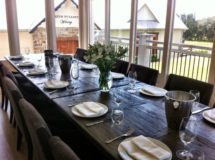 WJP Private Tasting Room set for Spring Lunch with wine tasting. Seasonal  Grazing Menu by Muse Kitchen.