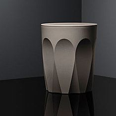 glass collection stool latte twilight