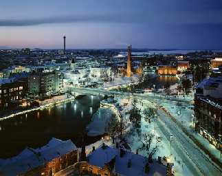 Tampere in Finland. Home of the Moomin museum and gift shop, no less