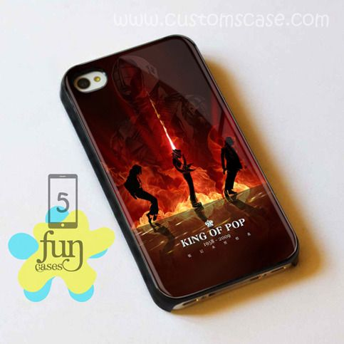 King Of Pop iPhone 5 Case Cover from Funcases