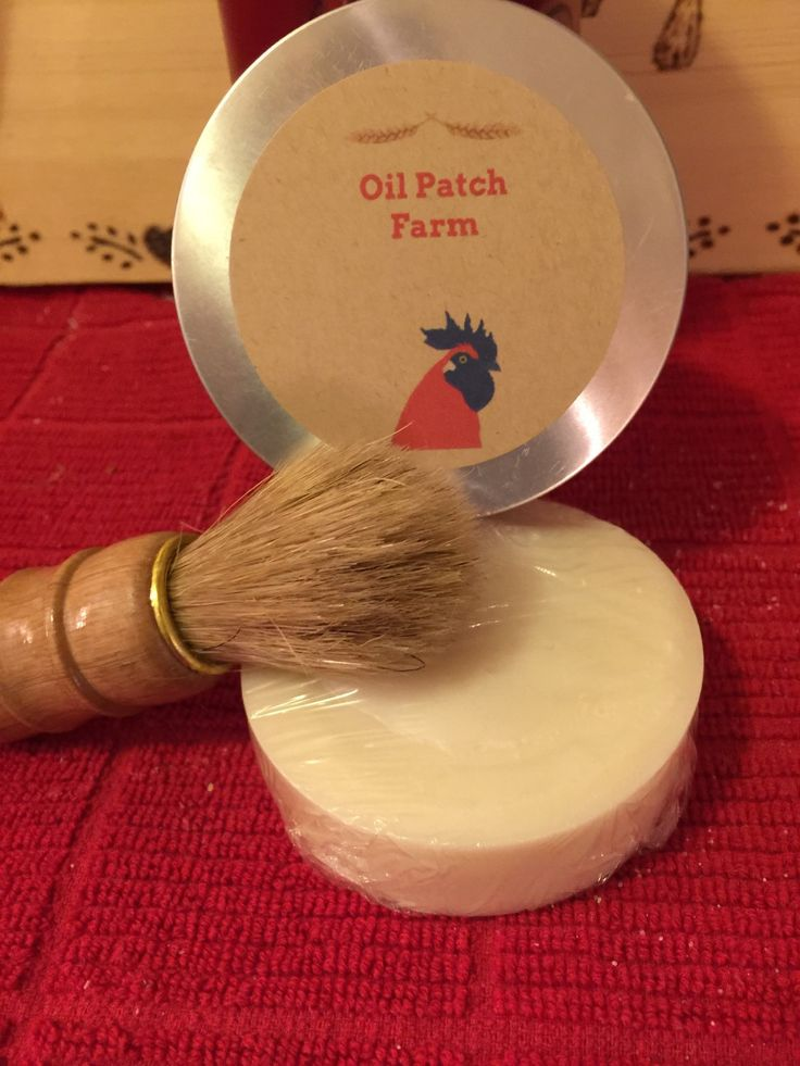 Shave and a Haircut men's Shaving set/ cold process shave bar and brush. by OilPatchFarm on Etsy