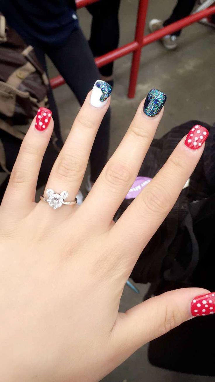 799 best Disney Nails images on Pinterest | Disney nails, Disney ...