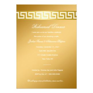 Best Greek Dinner Invitation Images On   Dinner