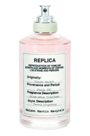 REPLICA by Maison Martin Margiela  A reproduction of familiar scents and moments of varying locations and periods.