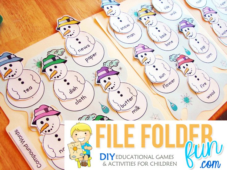 If you've never heard of File Folder Games, this is the spot for you! A file folder game is basically just what it says.....A game that is played on a file folder. File Folders are the little cream...