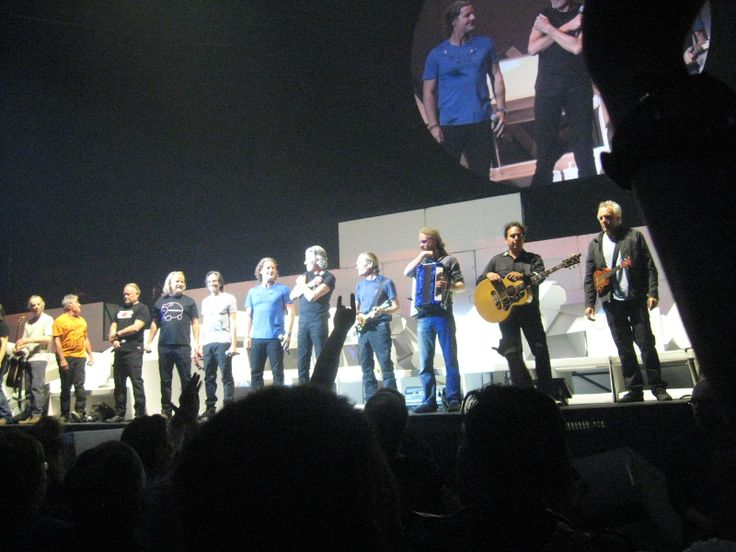 All the Band at End