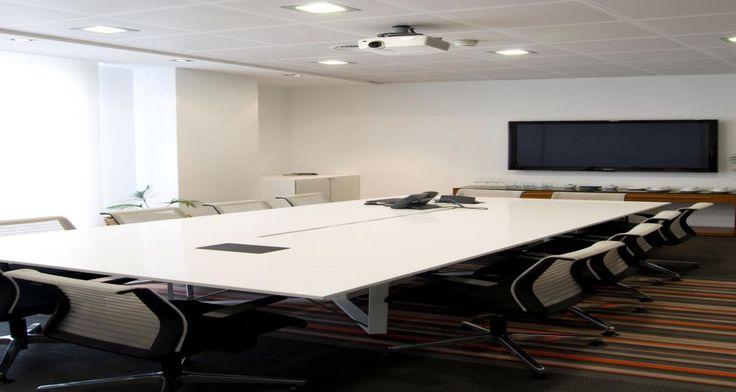 Meeting room into Grey Group's premises in Madrid, Spain