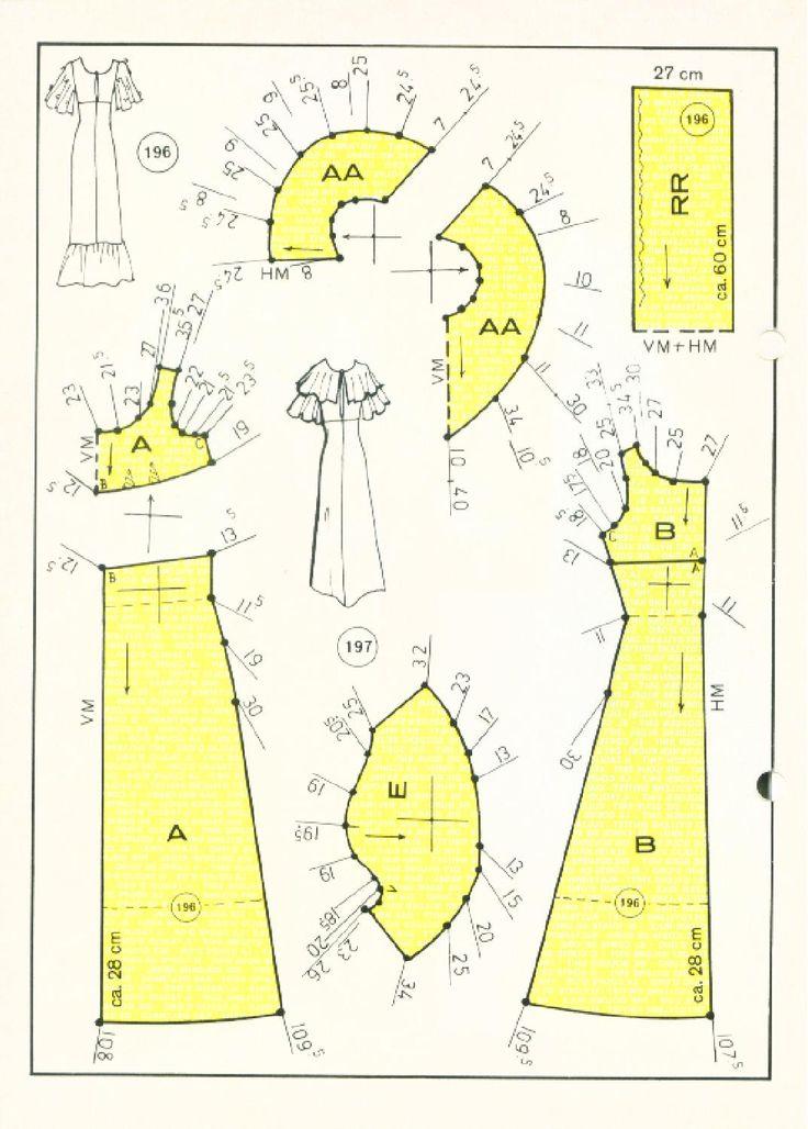 Vintage Sewing Patterns 155 winter 1979 Patternmaking
