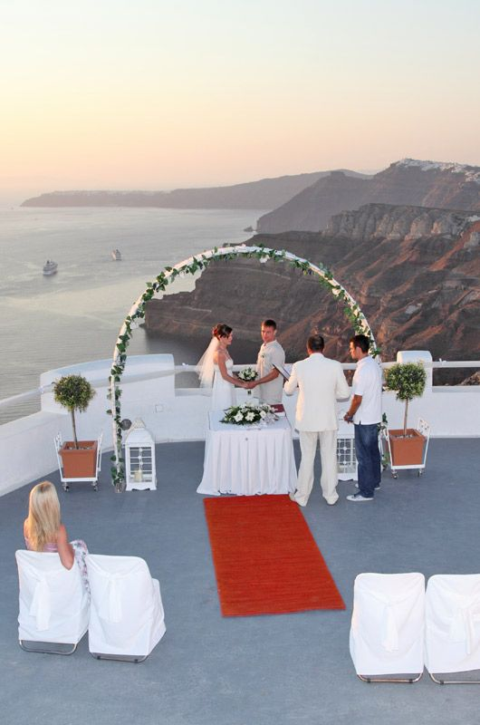 Santorini wedding location ideas for Destination wedding location ideas