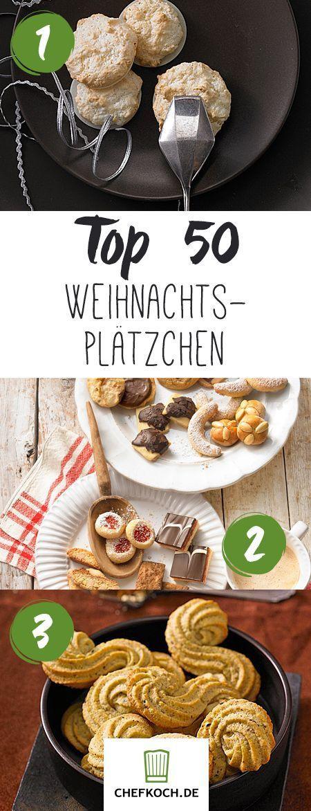 Top 50 Weihnachtsplätzchen: Vanillekipferl, Zimtsterne & Co.