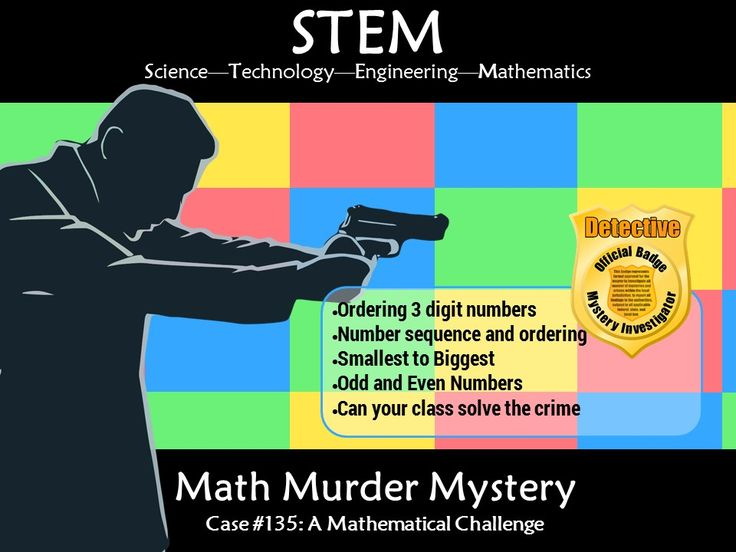 This murder mystery will engage students by taking them on a journey to solve math puzzles to solve a murder. Students will need to gather evidence by completing charts, Interview witnesses by sorting through 3 digit number and compare data to narrow the ...