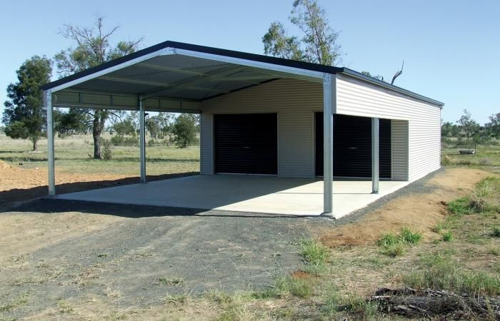 Steel garage kits with carports for sale garaports for Mobile home garage kits
