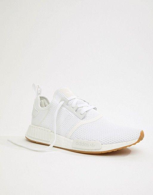 brand new d9b03 edbfd adidas Originals - NMD R1 Sneakers White -  130.00