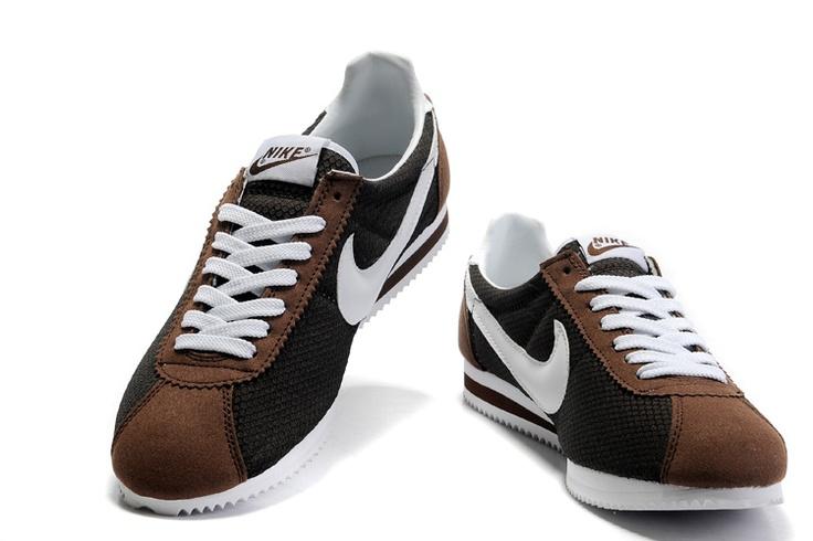 Nike Cortez Brown Amp White Want Sneakers Nike Fashion