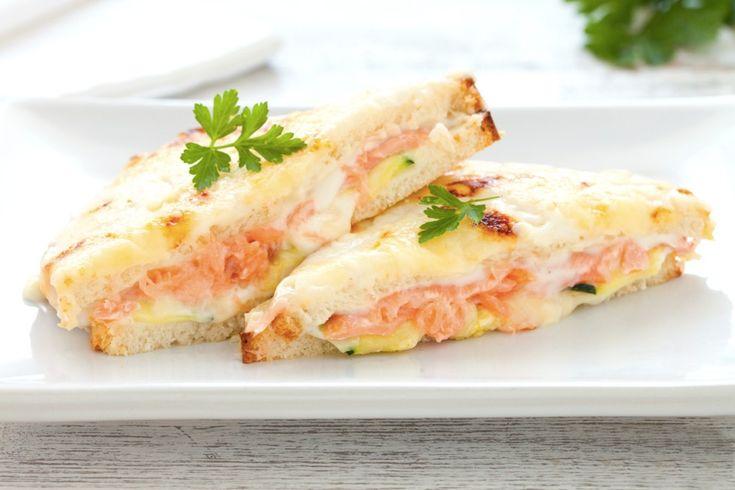 Croque-monsieur con salmone affumicato ricetta