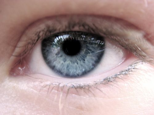 Example Of Cool Summer Soft Blue Eyes With Pink Skin