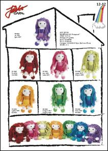 2000 Free Amigurumi Patterns: Rainbow Dolls (in Swedish)