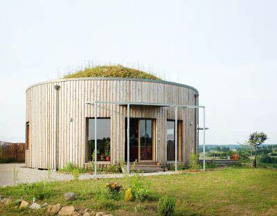 Virginie Farges - architecture écologique corrèze limousin: Maison ronde