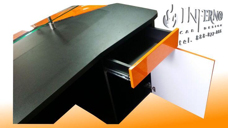 Lamborghini Murcielago desk