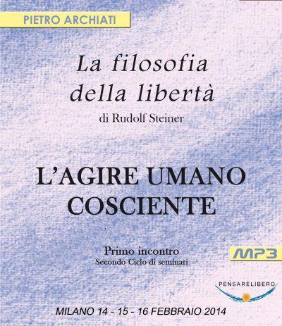La Filosofia della Libertà 1 - secondo ciclo - copertina CD