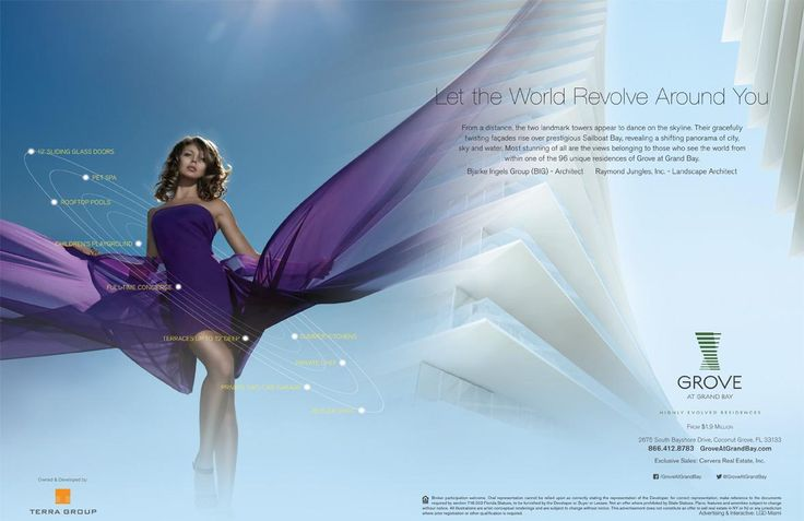 #TBT. We're throwing it back to the Advertising Campaign we did for the Dancing Towers of Grove At Grand Bay, a great inspiration for our creative team to deliver a spectacular design. Let our work speak for itself.