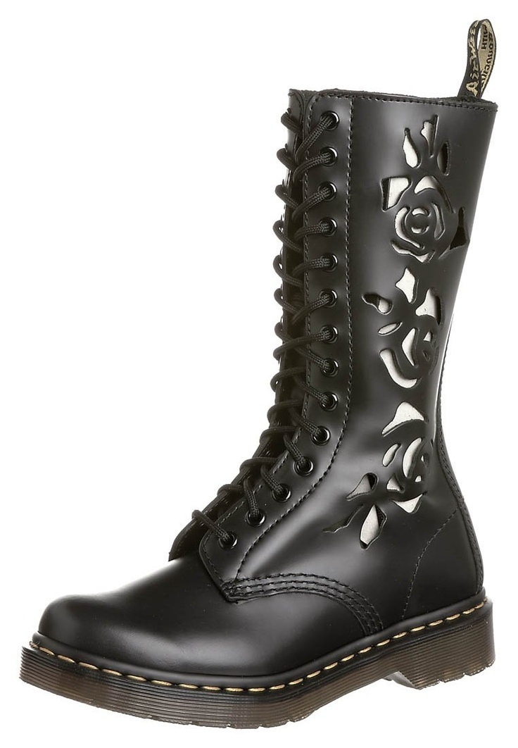 dr martens rosie lace up boots with cut outs i love them but i think you 39 d have to wear them. Black Bedroom Furniture Sets. Home Design Ideas