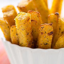 Baked polenta, Polenta fries and Polenta on Pinterest