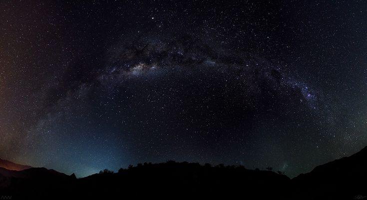 FOTOS DE NUESTROS AMIGOS: La Vía Láctea y Júpiter. Gracias a Matías Rodríguez y Alex Castro Ahumada por enviarlas. Si quieres que publiquemos tus fotos envíalas a contacto@portalastronomico.com indicando dónde y cómo la tomaste.