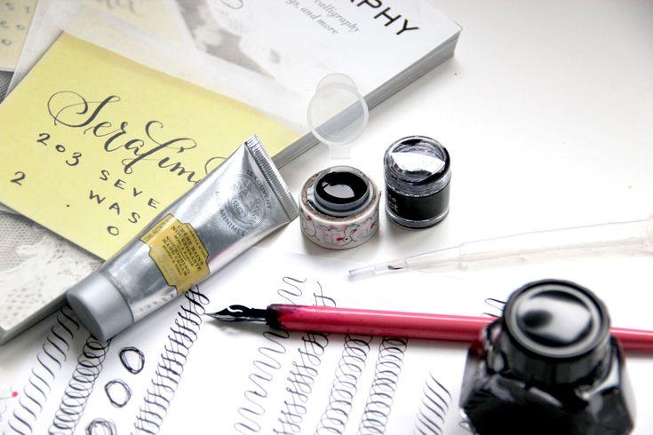 Calligrafia e macchie d'inchiostro: consigli per tenere le mani pulite