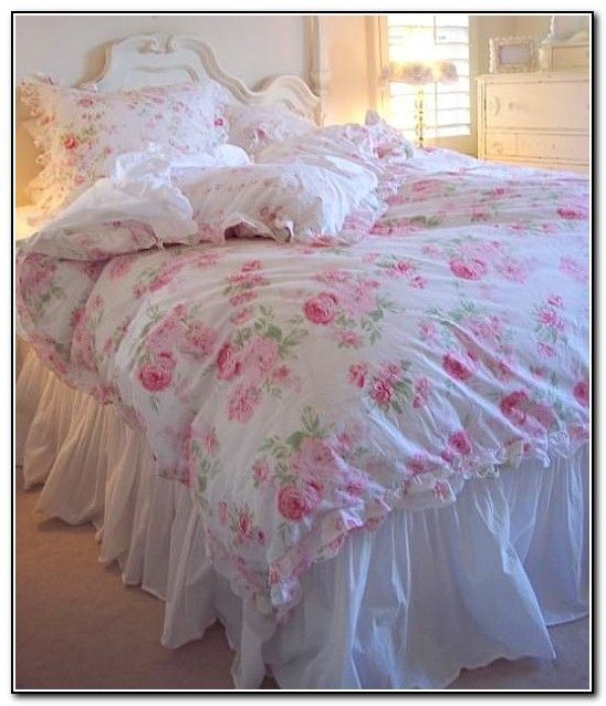 simply shabby chic bedding white shabbychicbedroomspink. Black Bedroom Furniture Sets. Home Design Ideas