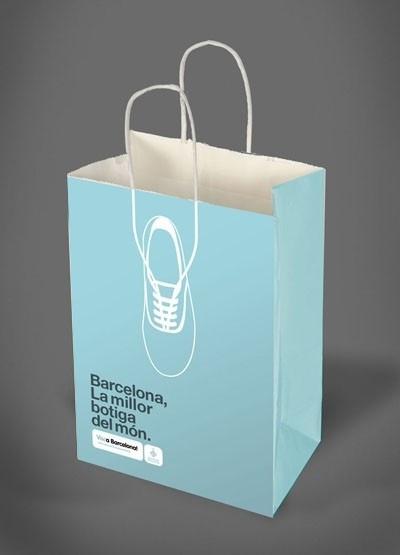 Viva Barcelona Shopping Bag (Spain)