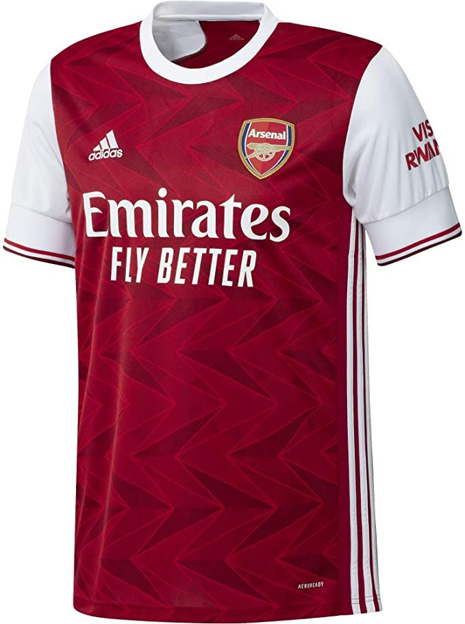 Adidas 2020 2021 Arsenal Home Football Soccer T Shirt Jersey In 2020 Soccer Tshirts Football Jersey