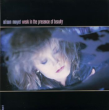 """For Sale - Alison Moyet Weak In The Presence Of Beauty UK  7"""" vinyl single (7 inch record) - See this and 250,000 other rare & vintage vinyl records, singles, LPs & CDs at http://eil.com"""