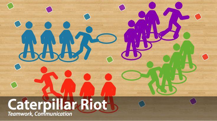 ThePhysicalEducator.com | Cooperation Games | Caterpillar Riot