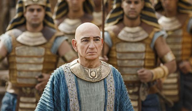 """It isn't always easy being king, as Egypt's boy monarch Tutankhamun proves in an exclusive new trailer from Tut, an upcoming miniseries from Spike TV. Oscar winner Ben Kingsley plays mentor to King Tut (Avan Jogia), who has some trouble getting Egypt's support. """"Who can I trust?"""" Tut asks Kingsley's character, Ay, at one point. """"No one,"""" Ay coldly replies. What follows is plenty of violence, some sex, and lots of fire. Think Game of Thrones, but with more pyramids and fewer dragons."""