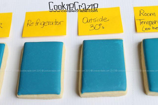 CookieCrazie: Got White Spots on Glaze Icing Sugar Cookies?