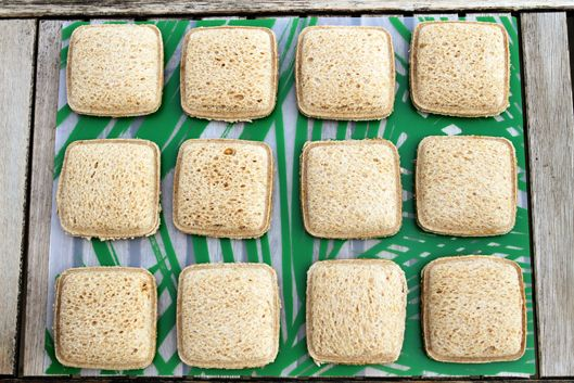 DIY Uncrustable Sandwiches...freeze and save for school lunches