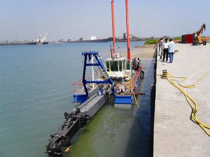 8 inch cutter suction dredger