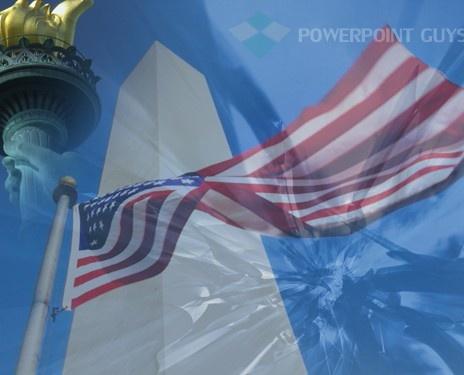 21 best americana powerpoint templates images on pinterest monument flag powerpoint template toneelgroepblik Choice Image