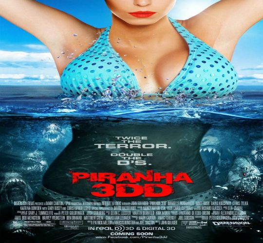 "synopsis A people look like piranhas not only remain in a lake but step through open pipes coming to homes, swimming pools and even a water park known as ""Wilderness Waters"" where continue his bloody rampage. Sequel to ""Piranha 3D"" (2010"