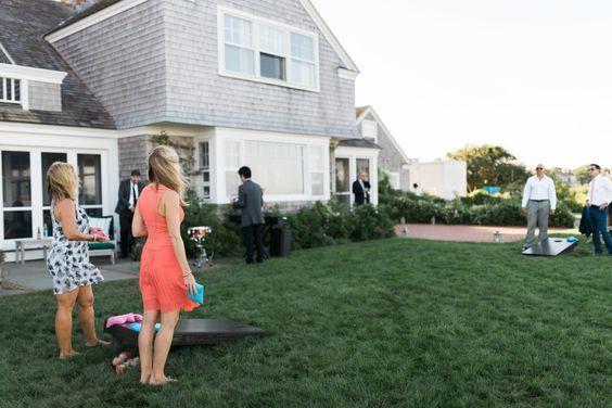 games at a wedding http://itgirlweddings.com/preppy-wedding-this-way/
