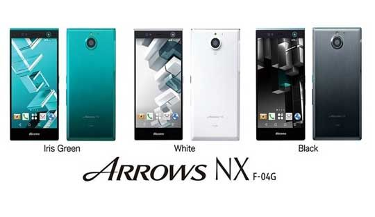 Fujitsu Arrows NX F-04G: First smartphone with iris scanning technology Launched