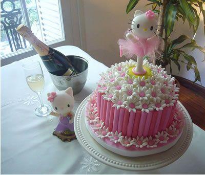 Cute: Hello Kitty Cake, Birthdays, Cake Ideas, Kitty Party, Hellokitty, Party Ideas, Cake Decorating, Birthday Ideas, Birthday Cakes