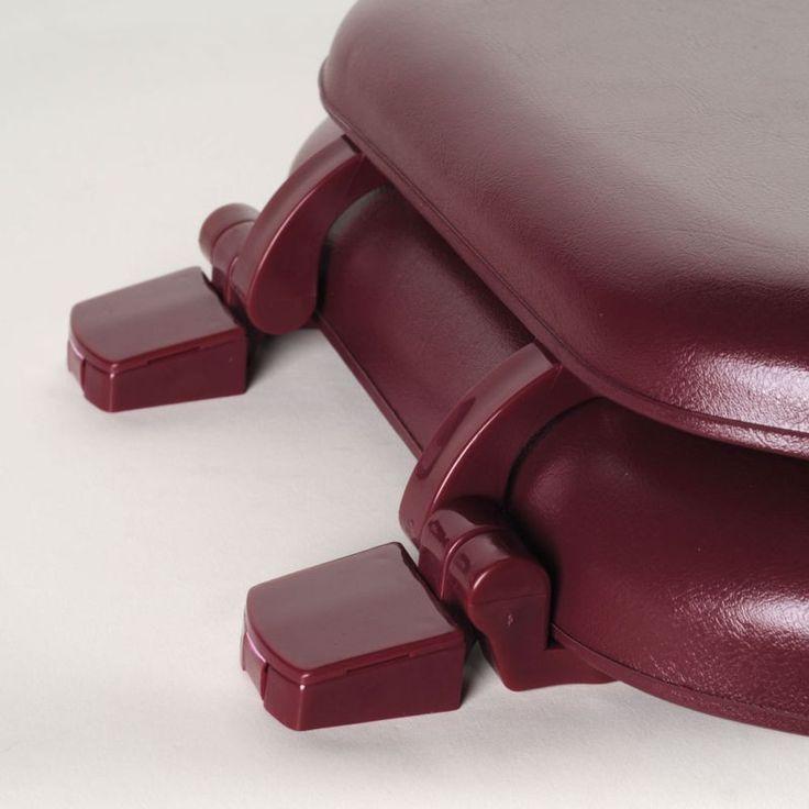 Comfort Seat C1B5R2-70 Red Claret Round Soft Round Toilet Seat Premium – Toilets – Bed & Bath - GreyDock.com