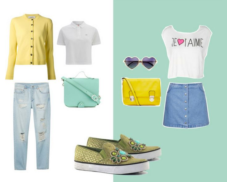jeans or skirt? #colorsofcalifornia #outfit