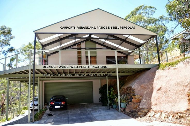 Carports, Verandahs, Patios and  Pergolas - DMV Outdoor Solutions Adelaide Southern Suburbs
