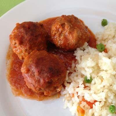 Uno de los platillos t picos mexicanos son las alb ndigas casi siempre acompa adas de arroz y - Albondigas tradicionales ...